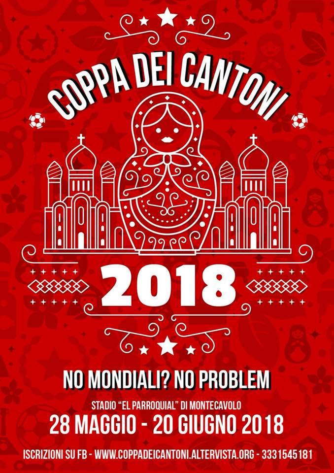 La nuova locandina 2018 realizzata da Big Dog aka Alce aka Alessandro Cervi.